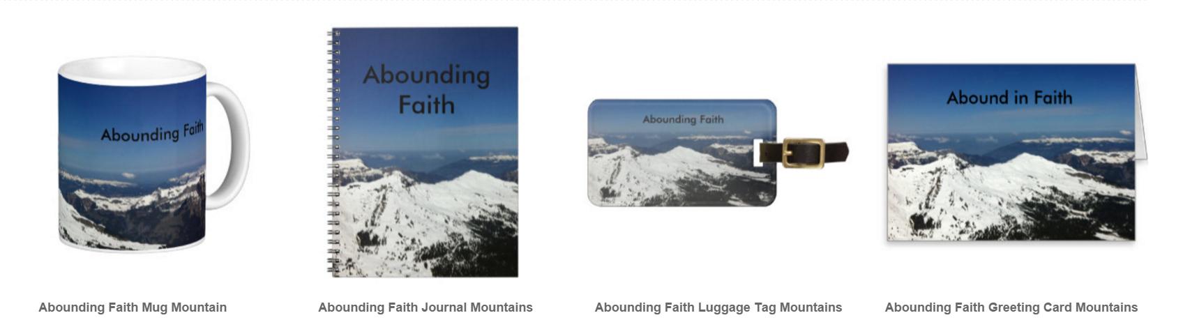 Abounding Faith Mountains