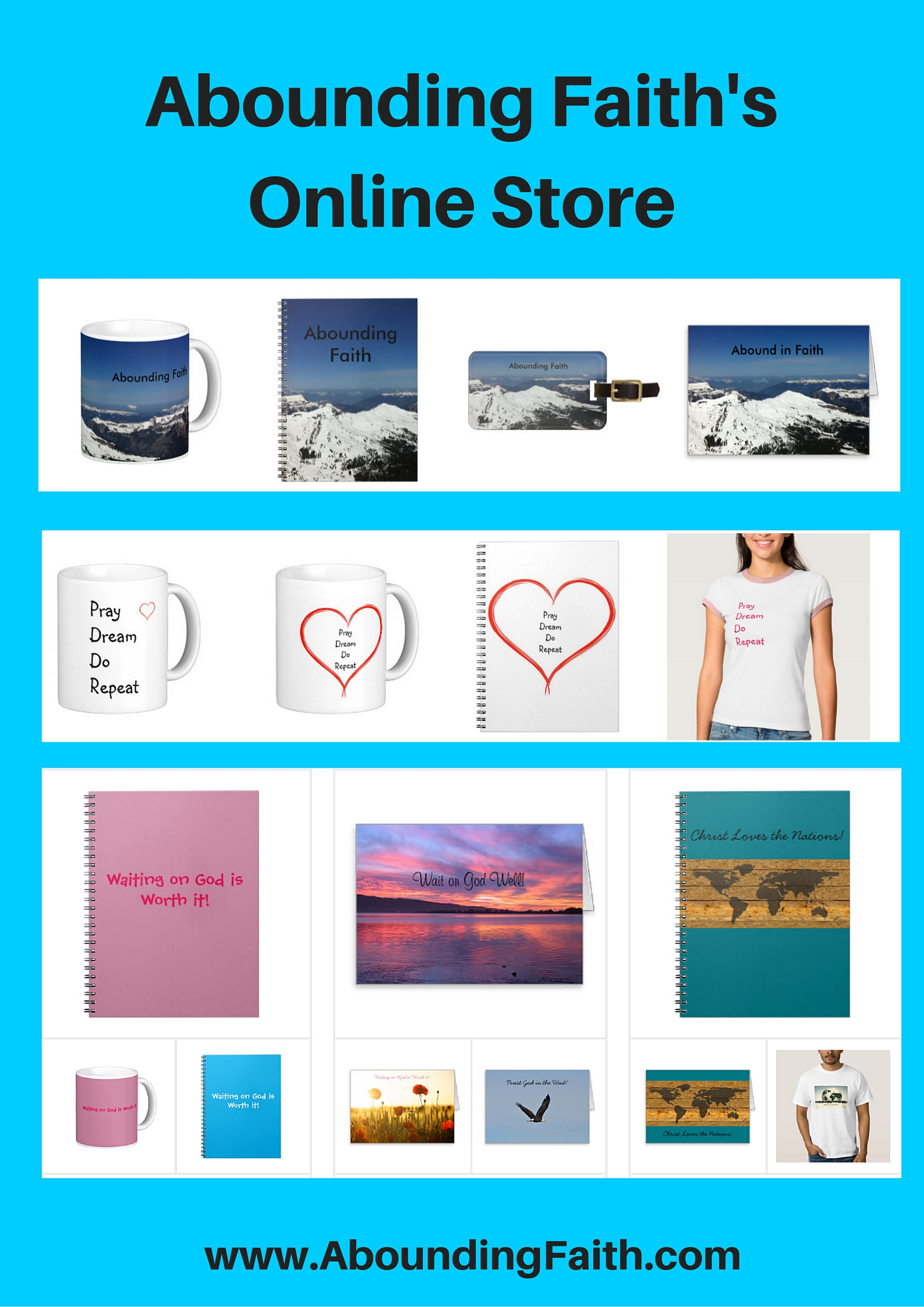 Abounding Faith's Online Store